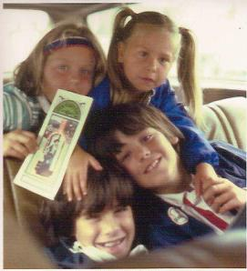 Me and the sibs in the '70s