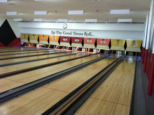 The local bowling alley