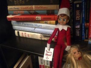 Scary Elf on the Shelf